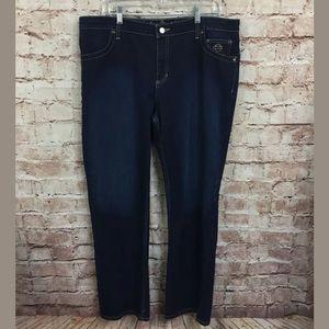 Harley Davidson sz 16 jeans Women's Blue Dark Wash